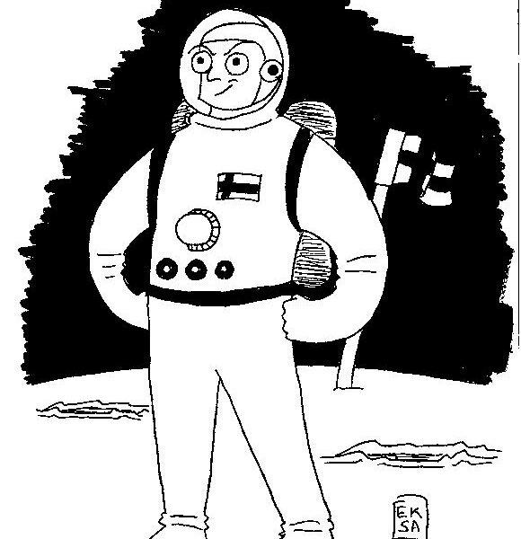 Avaruusluotain 2008/03, Visio avaruudesta ja tähtien sota
